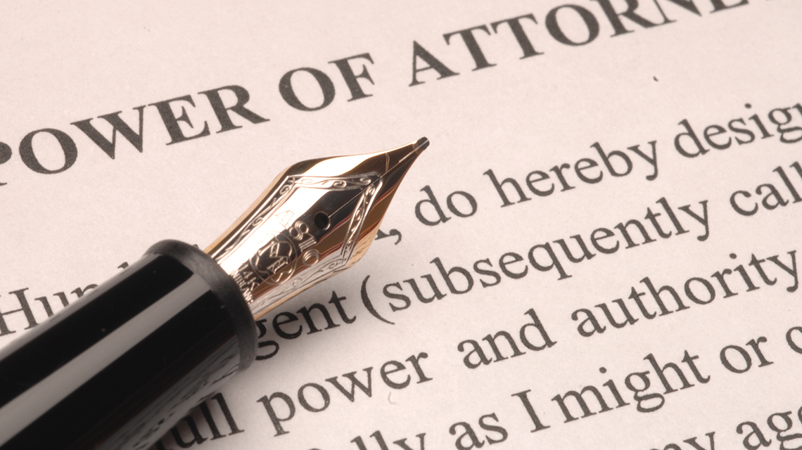 Power of Attorney tax tips